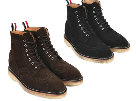 thom browne fall winter 2011 wing tip boots highsnobiety