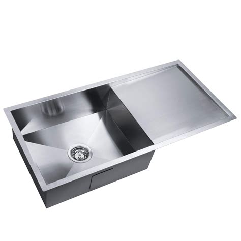 stainless steel laundry stainless steel kitchen laundry sink w strainer waste