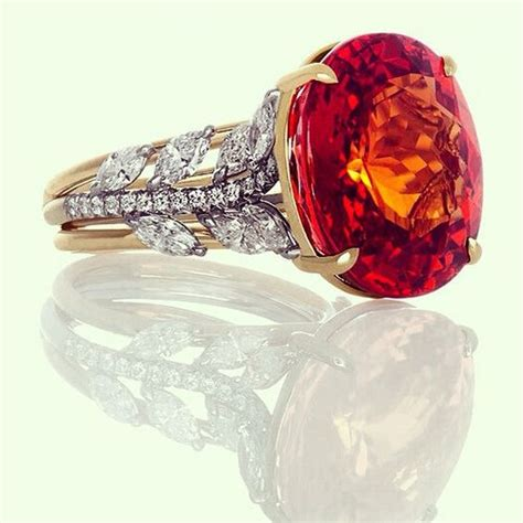 Imperial Topaz 18 05ct 17 best images about garnet colors on brooches