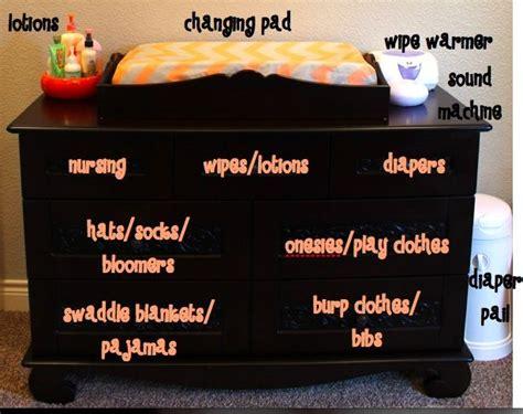 Organizing Nursery Dresser by 25 Best Ideas About Baby Nursery Organization On Nursery Organization Nursery