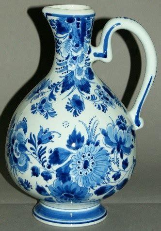 Delft Blue Vase Jug Porceleyne Fles Holland   eBay   Dutch