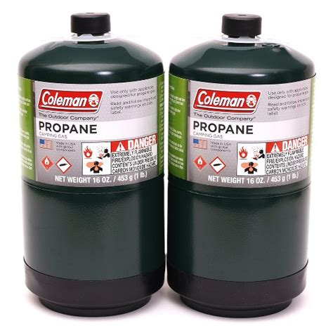 Is Patio Gas Propane Coleman 174 Propane Fuel Tank 2 Pack Target