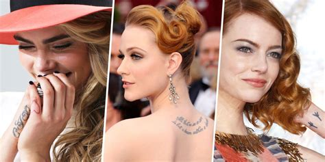 celebrity tattoo meanings tats