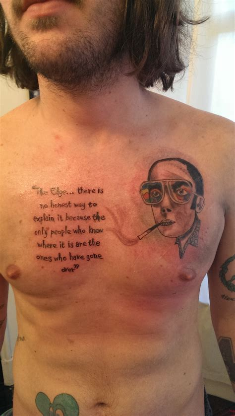 hunter s thompson images hunter s tattoo hd wallpaper and