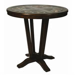 pastel coast 40 inch high pub table traditional