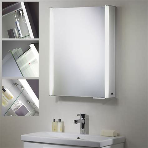 el milos low energy bathroom cabinet 2 light switched bathroom cabinets with light everdayentropy com