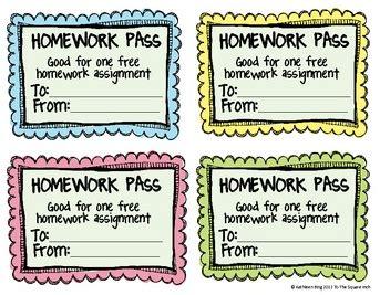 Homework passes v late homework passes tothesquareinch