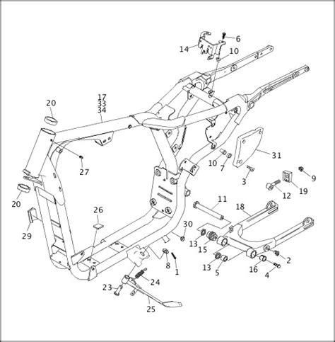 Harley Sportster Parts Diagram Wiring Diagram Secrets