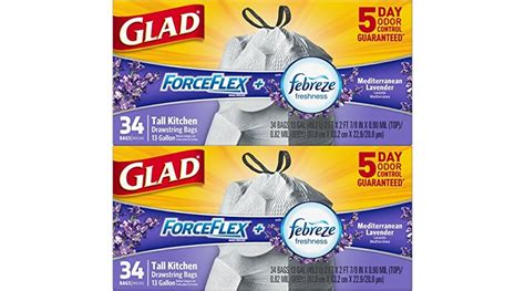Trash Bags The New Look For Fall by New 30 Coupons Up To 45 Select Glad Products W