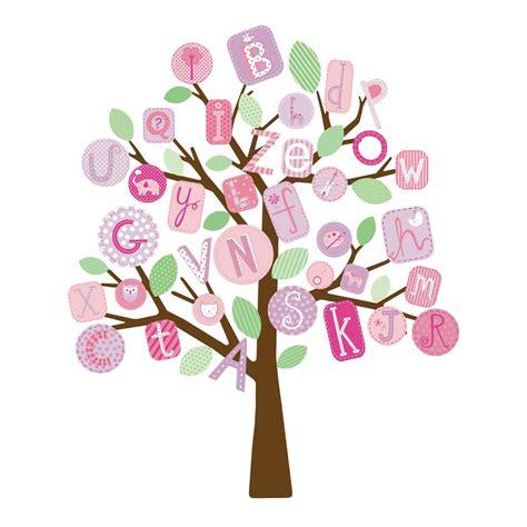 Monkey Wall Sticker wandsticker abc baum in pink von roommates kaufen bei
