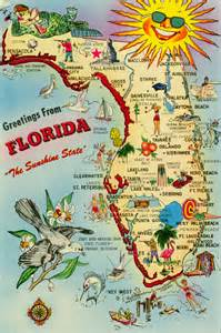 map of florida with attractions deboomfotografie