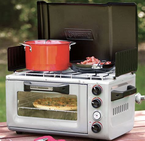 Best Small Convection Toaster Oven Pizza Under The Stars Camping Oven Stove Combo Geekologie