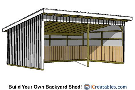 16x24 Shed Plans Free by 16x24 Run In Shed Plans 16x24 Shed Plans