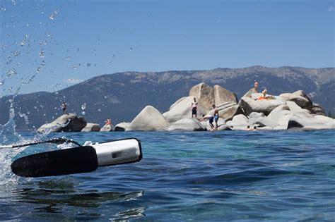 designboom drone trident underwater drone sets a world of ocean curiosity