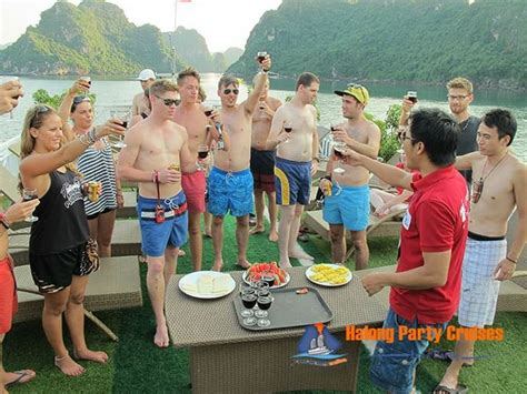 party boat halong bay fun and interesting activities in halong bay part 2