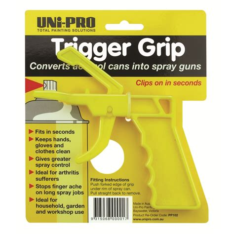 home depot spray paint trigger uni pro spray can trigger grip bunnings warehouse