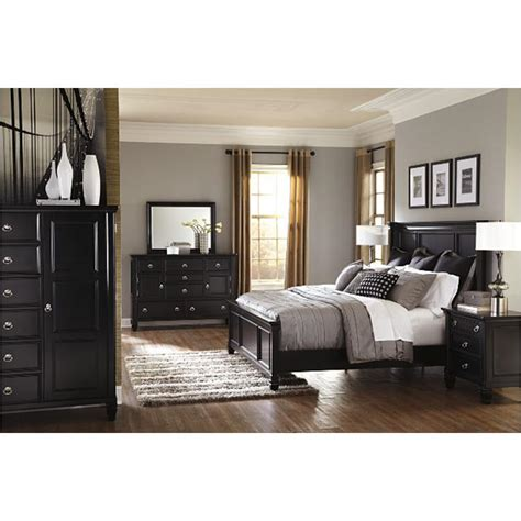 ashley furniture greensburg bedroom set b671 58 ashley furniture greensburg black king panel bed