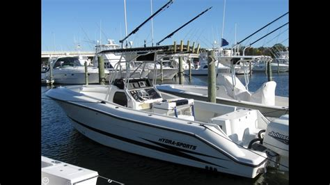 hydra sport boats for sale in new jersey sold used 2000 hydra sports 2596 vector cc in brick new