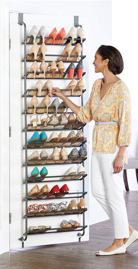organized shoe storage without using an inch of precious floor space ikea hackers ikea hackers 25 best ideas about shoe racks on diy shoe storage shoe storage and pallet ideas