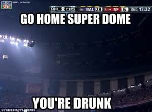 Latest Internet Memes - super bowl 2013 blackout becomes latest target of