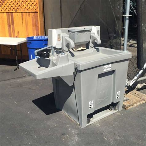 home wash station handicap wash station clean site services clean sweep environmental