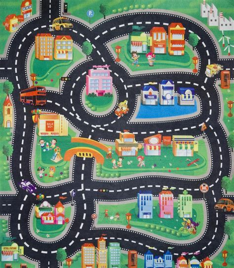 Play Mats For Boys by Childrens Boys Car Road Play Mat Roll Up Bithday