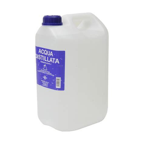 acqua distillata per alimenti acqua distillata 5 lt bricofer