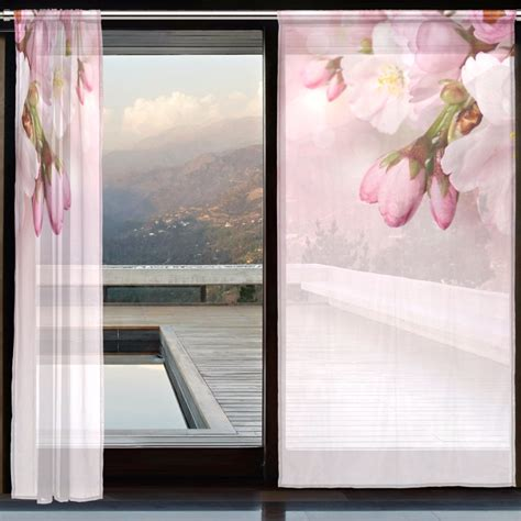 peach pink curtains online get cheap peach floral curtains aliexpress com