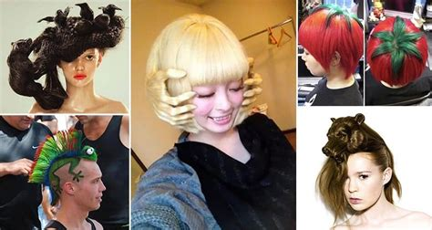 how to do crazy hairstyles 15 crazy but fun hairstyles you won t believe are real