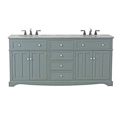 home depot granite bathroom vanity home decorators collection fremont 72 in w x 22 in d