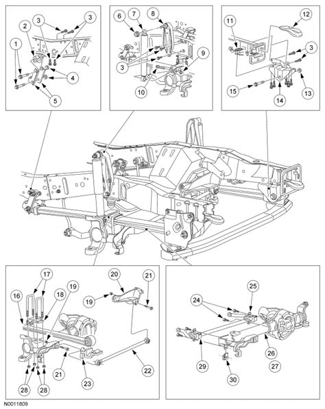 ford excursion parts diagram 2004 ford f250 front end steering diagram autos post