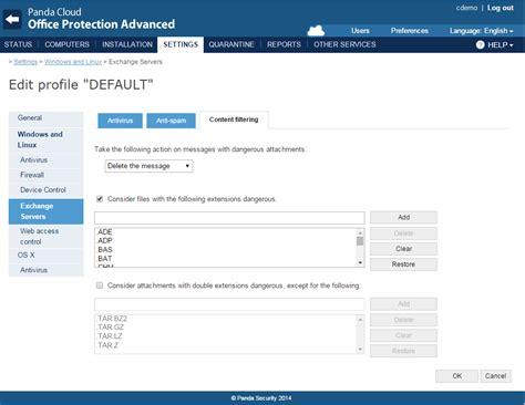 panda cloud console panda security launches panda cloud office protection 7 1
