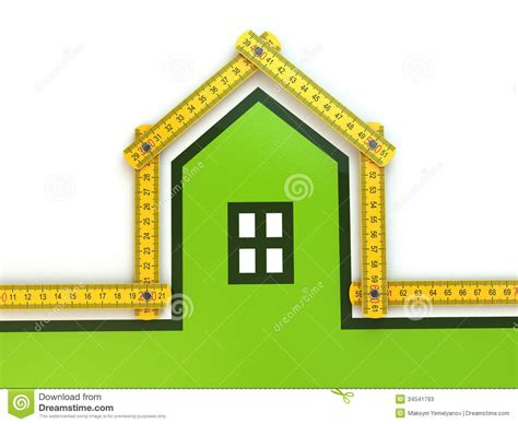 Yard House Gift Card Balance - house from yard stick on white background stock photos image 34541793