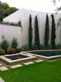contemporary la jolla landscape architecture courtyard pool italian cypress