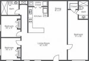 Two Floor Bed two bath floor plan unique 2bath 1017sq plans chelsea