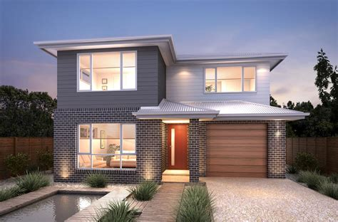 Spacious 2 Storey Family Home On Great Block House And Two Storey House Plans Gold Coast