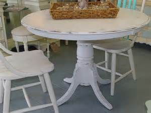 White Distressed Dining Room Table White Distressed Dining Table Home Design Ideas