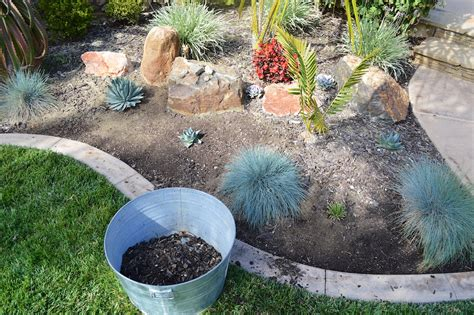Landscape Rock Removal My Weekend Project A New Rock Garden