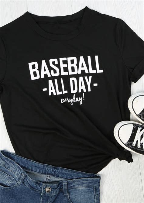 Tshirtoblongkaos All Day Everyday baseball all day everyday t shirt fairyseason