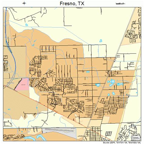 fresno texas map fresno texas map 4827540