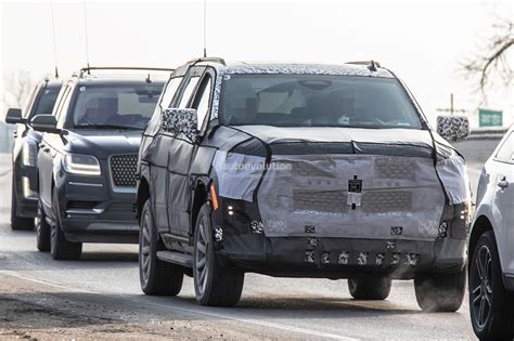 Next Generation 2020 Cadillac Escalade by 2020 Cadillac Escalade Spied With Makeshift Dodge Ram