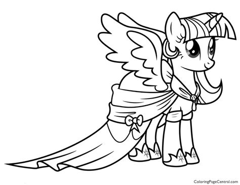 Twilight My Little Pony Coloring Pages Snap Cara Org Twilight Coloring Pages To Print