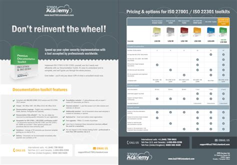 iso 27001 policy templates iso 27001 iso 22301 audit toolkit 27001academy