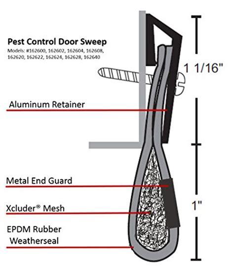Xcluder Door Sweep by Xcluder 162628 Residential Pest Door Sweep 48