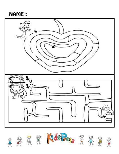 printable brain maze easy maze puzzles 7 to be activities and maze