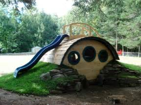 quot woodshire quot hobbit hole playhouse outdoor products other metro by wooden wonders