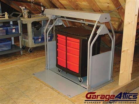 Garage Storage Motorized Motorized Storage Lift For Your Garage Garage Loft