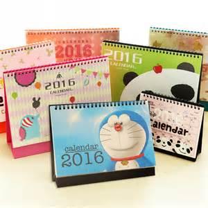 Small Desk Calendar Aliexpress Buy 2016 South Korea Small Desk Calendar Calendar Notepad Diy Calendar Program