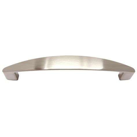satin nickel cabinet pulls shop gatehouse 128mm center to center satin nickel bar