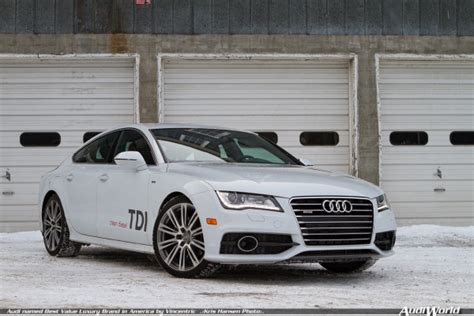 audi a7 cost of ownership audi named best value luxury brand in america by